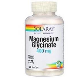 Solaray глицинат магния 400 мг 120 капсул