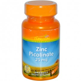 Thompson Пиколинат цинка 25 мг 60 таблеток
