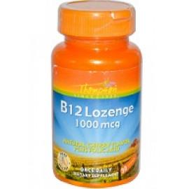 Thompson B12 таблетки для рассасывания натуральный аромат вишни 1000 мкг 30 таблеток