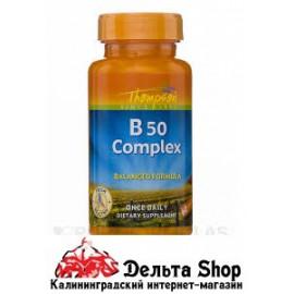 Thompson Комплекс B50 60 капсул