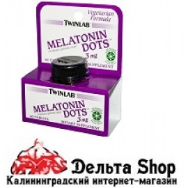 Twinlab Мелатонин 3 мг 60 таблеток