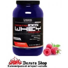 Ultimate Nutrition 100% Prostar Whey Protein USA 908gr
