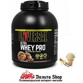 Universal Nutrition USA Ultra Whey Pro ваниль 2273gr