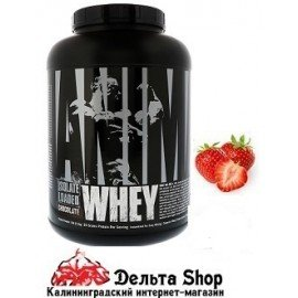 Universal Nutrition Animal Whey Isolate Loaded USA Strawberry 2.3kg