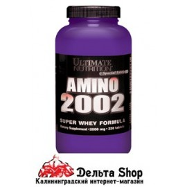 Ultimate Nutrition Amino 2002 330cap