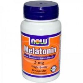 NOW Foods мелатонин 60 kap